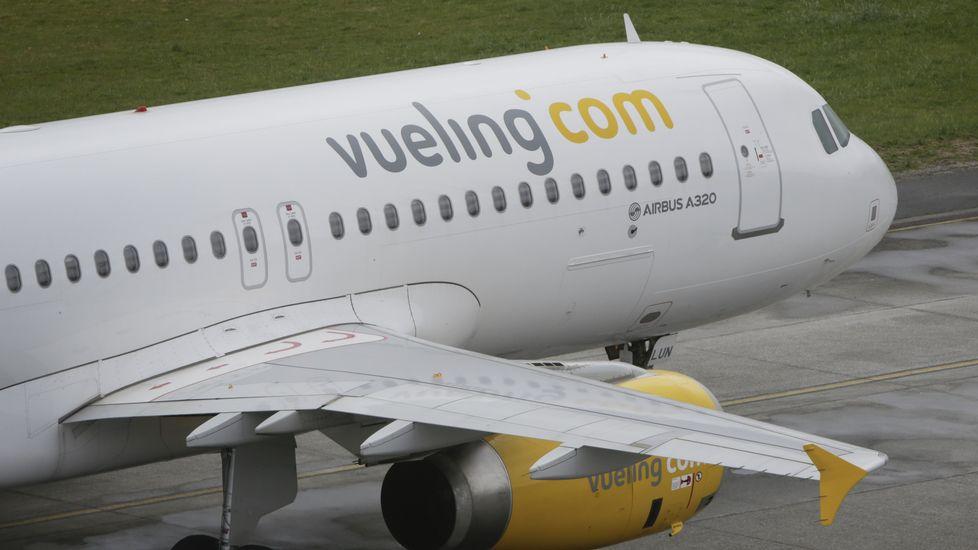 Imagen de un avión de Vueling.