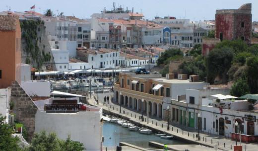 Imagen del port de Ciutadella.