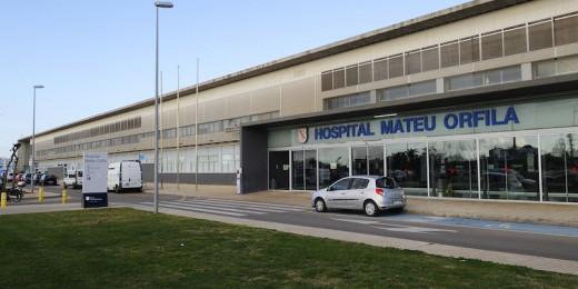 Imagen del exterior del hospital Mateu Orfila.