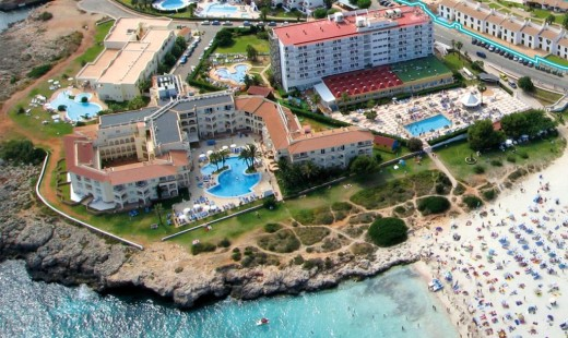 Imagen aérea de una zona de Menorca