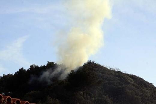 Hay riesgo extremo este viernes y sábado  de un incendio forestal.