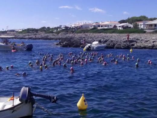 (Fotos) Carreras en el mar