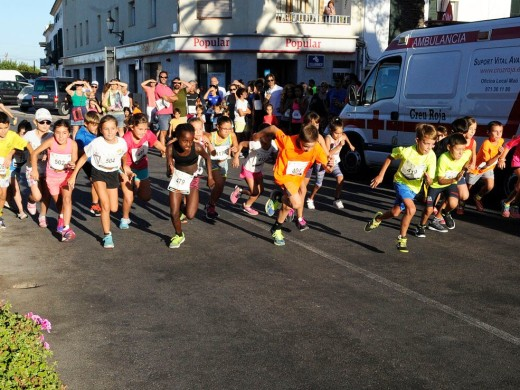 (Fotos) Maria Pallicer y Toni Godoy, los más rápidos en Sant Climent