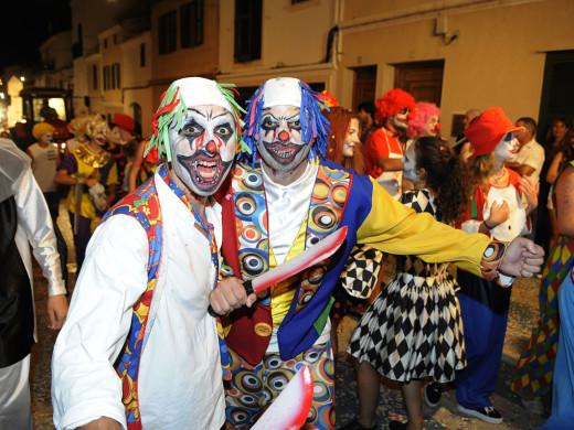 (Fotos) Noche de divertido terror en Alaior