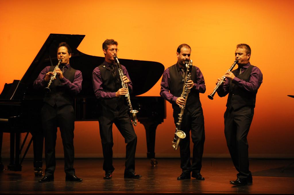 barcelona clarinet players en el teatre principal