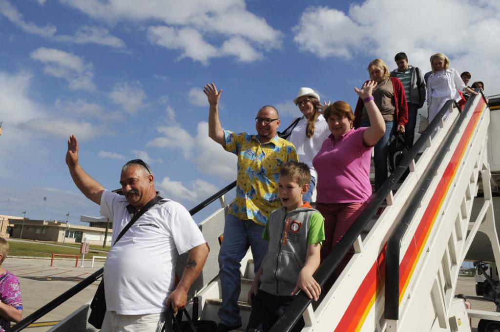 El aeropuerto de Menorca registrará una enorme cantidad de vuelos este fin de semana.