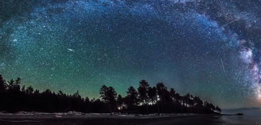 El cielo estrellado puede atraer visitantes.