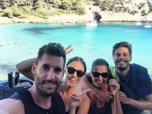 (Fotos) Así han sido las vacaciones de Helen Lindes y Rudy Fernández en Menorca