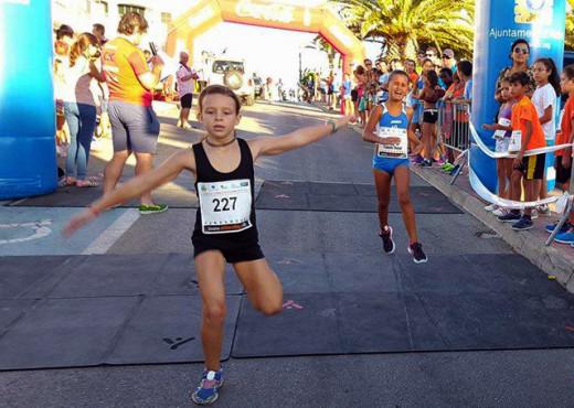 La carrera ha contado con cerca de 150 inscritos (Fotos: deportesmenorca.com)