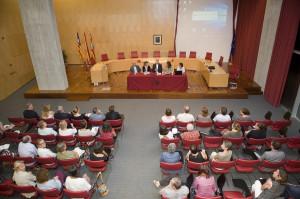 La cita tuvo lugar ayer en la sede del Consell.