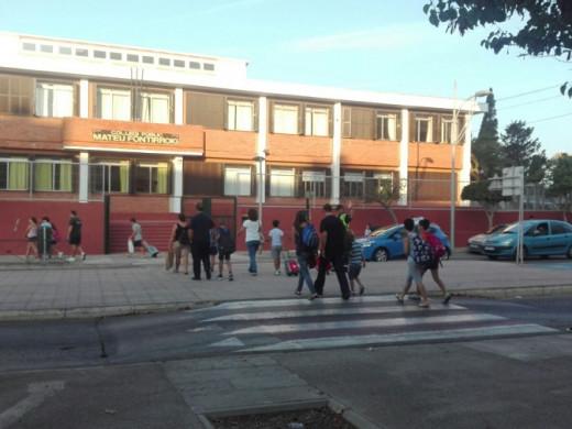 (Galería de fotos) Llegó el momento de volver a las aulas