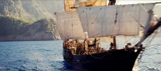 """Un barco """"made in hollywood"""""""