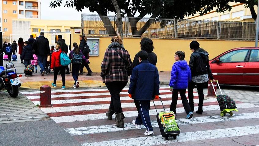 Los niños regresan a las aulas