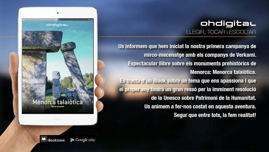 iBook de la Menorca Talayótica.