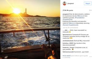 Captura de su Instagram.