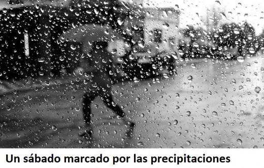 Alerta de lluvias.