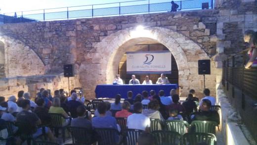 Momento de la conferencia de Marina Alabau (Foto: Paco Esteva)