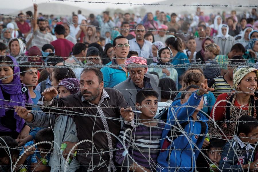 El drama dels refugiats és ben present a Europa.