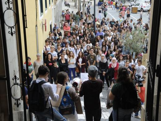 (Galería de fotos) Todas las imágenes de la huelga contra la Lomce en Menorca