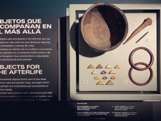 (Galería de fotos) Inaugurada en Madrid la exposición sobre cultura talayótica