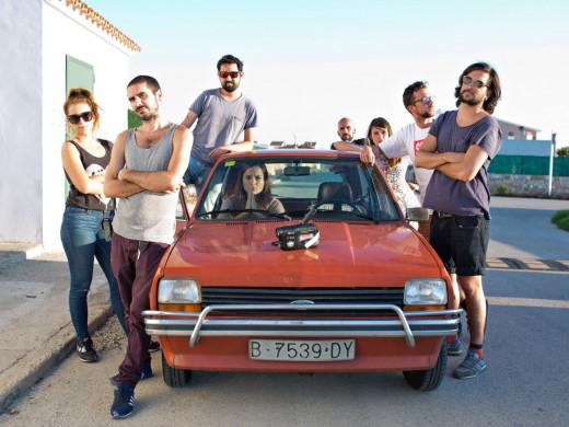 (Galería de fotos) La cantautora catalana Judit Neddermann filma un videoclip en Menorca