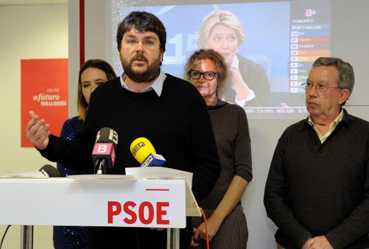Vicenç Tur y Elena Baquero dejarán sus cargos orgánicos en  el PSOE.