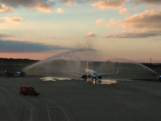 Ryanair vuela a Barcelona.