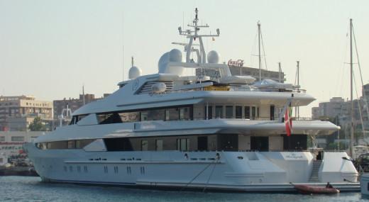 Imagen de archivo del barco atracado en Mallorca