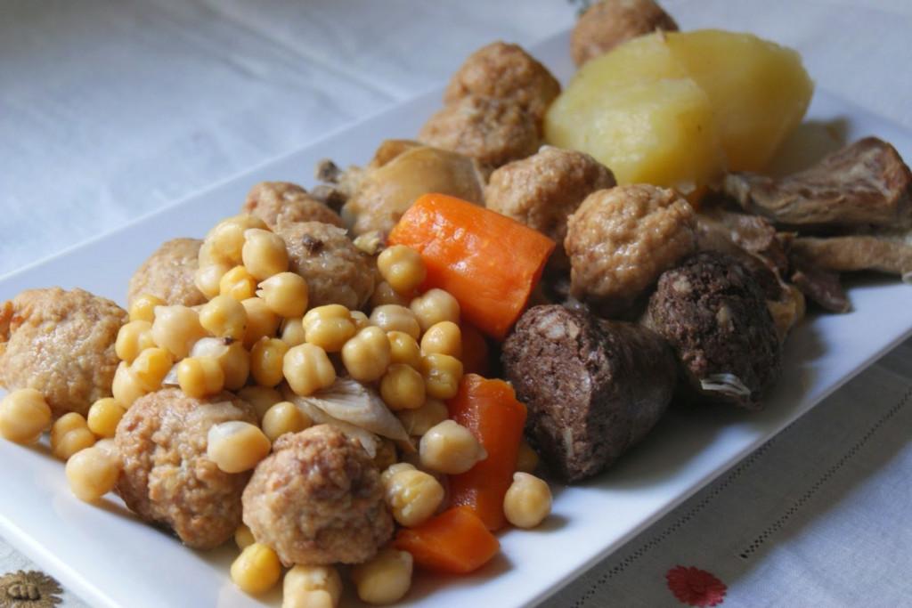 La carne del brou es un segundo plato delicioso.