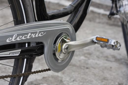 Con la bicicleta eléctrica se llega igual y se aparca mejor