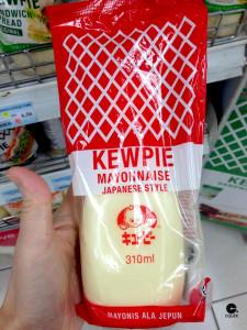 La mahonesa Kewpie es la más consumida en Asia.