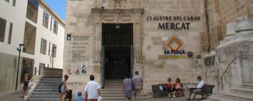 El Mercado del Claustro será uno de los lugares de Menorca sonde se llevará a cabo la campaña