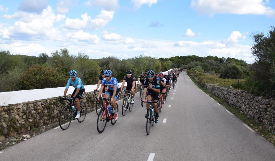 Paso de los ciclistas.