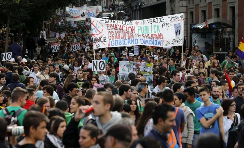 La huelga general estudiantil se llevará a cabo en toda la geografía nacional.