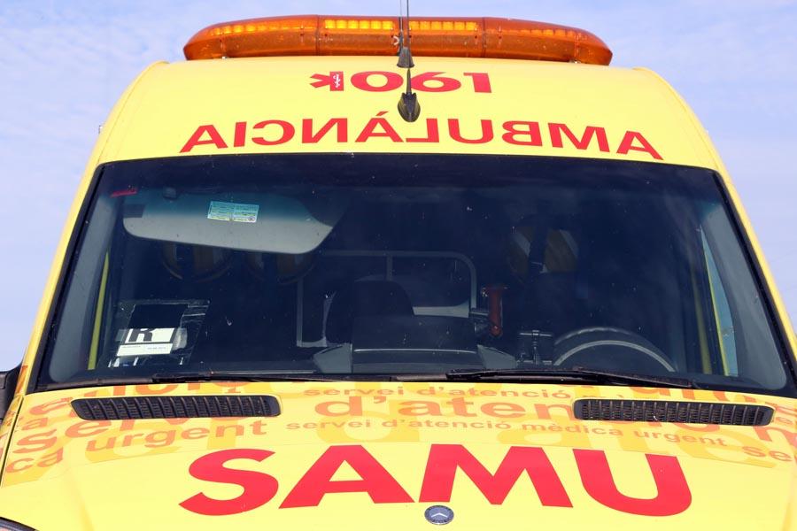 Tres unidades del SAMU del 061 han atendido a los heridos