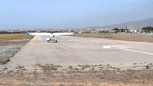 Aeródromo de Son Bonet, en Mallorca.