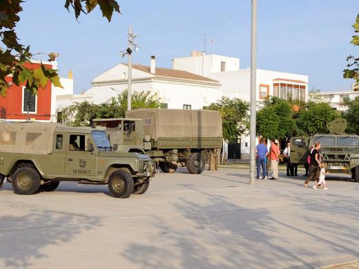 (Fotos) El Ejército toma Es Castell