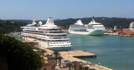 El puerto de Maó busca nuevos cruceros.