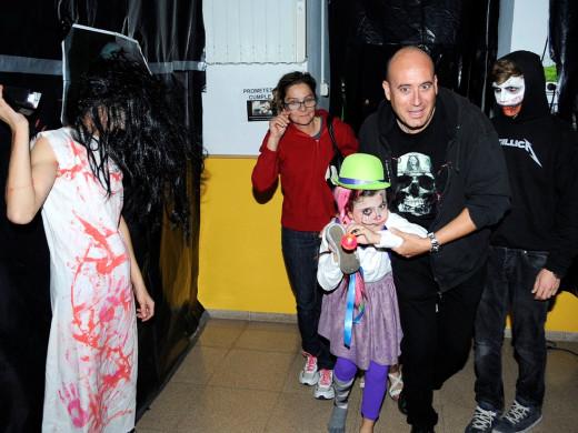 (Fotos) Noche de miedo