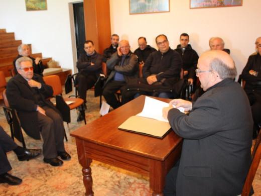 Discreta primera visita del nuevo obispo a Menorca