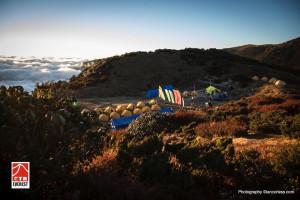 Imagen del campamento.