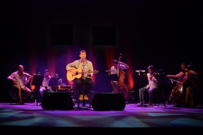 Cris Juanico, durante una de sus actuaciones.