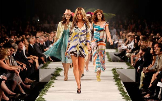 Un desfile de moda.