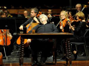 Joan Pons, durante el acto.
