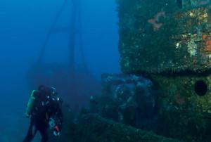 El buceo, una actividad que disfrutar en Menorca.