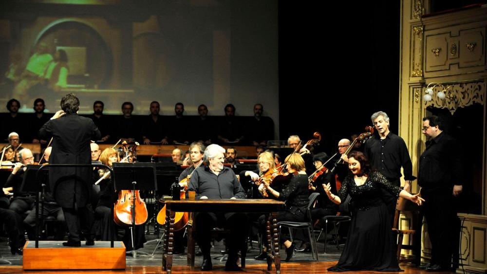 Imagen de la representación en el Principal (Foto: Tolo Mercadal)