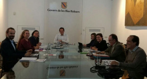 La reunión tuvo lugar ayer en Palma.