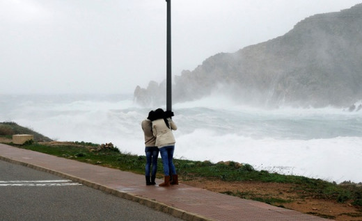 Se prevén vientos del norte de hasta 90 km/h