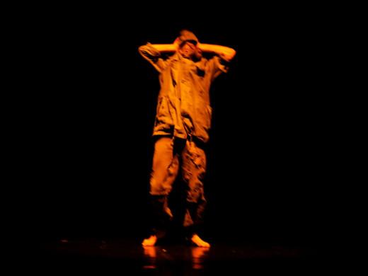 (Fotos) Un espectáculo de baile urbano con mensaje