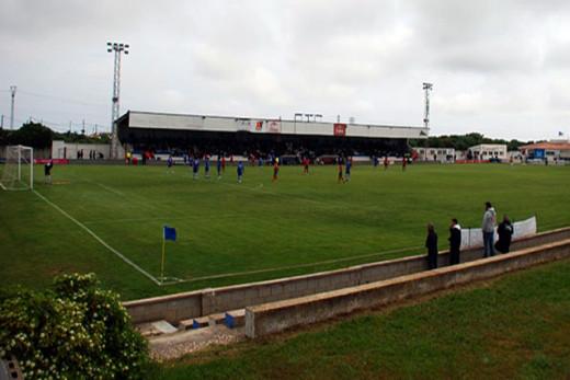 Imagen del campo del Sporting de Mahón.